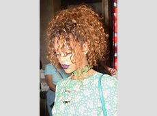 Rihanna Curly Auburn Dark Roots, Face-Framing Pieces, Updo ... L'oreal Hair Products