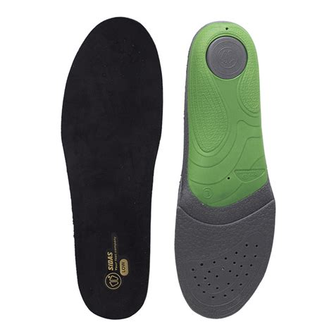 Sidas 3feet Activ Low Arch Insoles sidas 3feet slim insoles for low arches shoeinsoles co uk