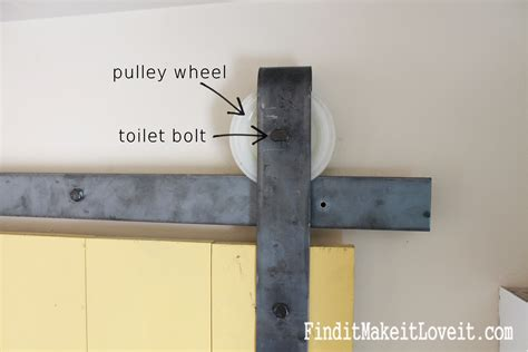 Small Garage Designs diy barn door track find it make it love it