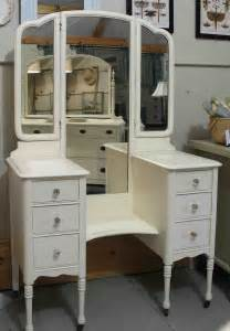 Vintage Mirrored Vanity by Antique Vanity With Mirror Doherty House Antique