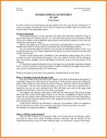 A Term Paper - 5 term paper format sle mystock clerk