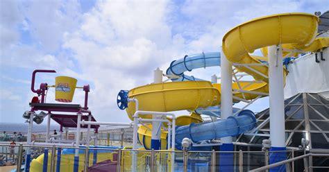 videosphotos usa today photos carnival glory gets a splashy new water park