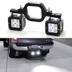 led backup light bar tow hitch mount 40w high power cree led pod backup