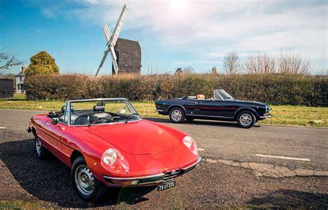 Fiat Alfa Romeo alfa romeo spider vs fiat 124 sport spider drive