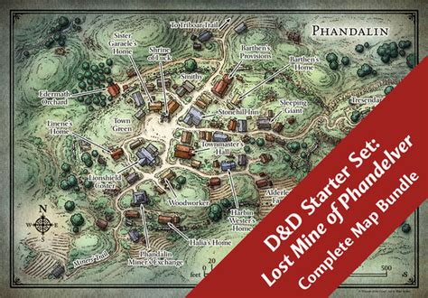 Set Home Maps by Mike Schley Map Downloads D D Starter Set Map Bundle