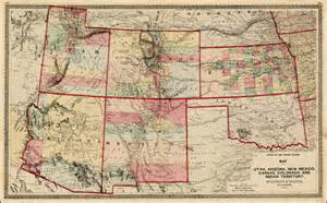 new mexico and colorado map map of eastern new mexico and colorado pictures to pin on