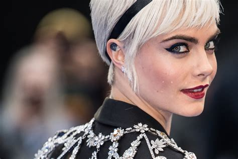 Custom Home Designer by Cara Delevingne Basically Wore Jewels On Her Feet On Red