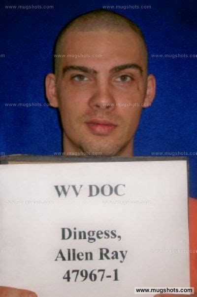 Kanawha County Arrest Records Allen R Dingess Mugshot Allen R Dingess Arrest Kanawha County Wv