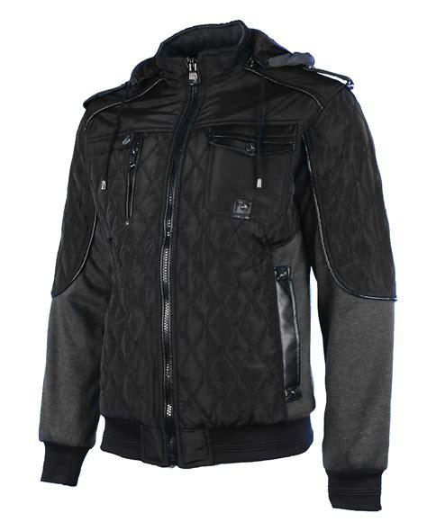 Hooded Zip Jacket maximos s envy hooded zip bomber jacket ebay