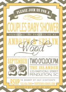 couples baby shower invitation by sldesignteam on etsy