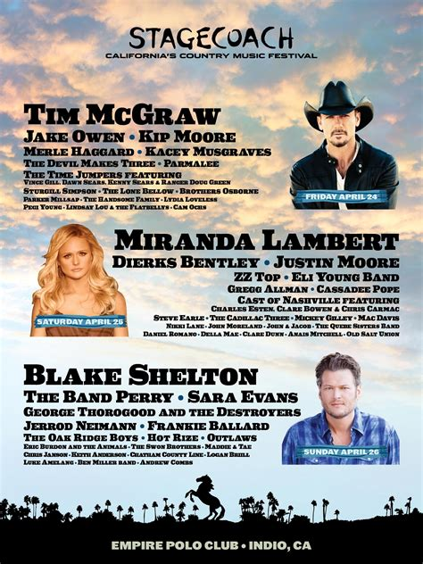 country music 2015 list stagecoach country music festival 2015 lineup announced