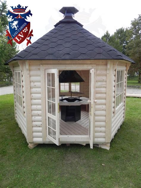 Log Cabin Bbq by Bbq Grill Huts Cabins Buildings Archives Log Cabins Lv