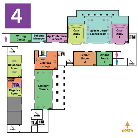 Fairview Dining Room by Maps Floor Plans Oklahoma State University Student Union