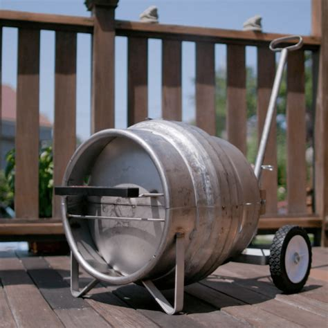 coors light pony keg keg grill upcycle that