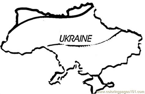 ukraine map coloring page coloring pages map of ukraine countries gt ukraine free