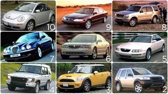 top ten new cars a car dealer s scientific guide to the 10 worst used vehicles