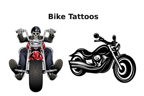 biker tattoos for men