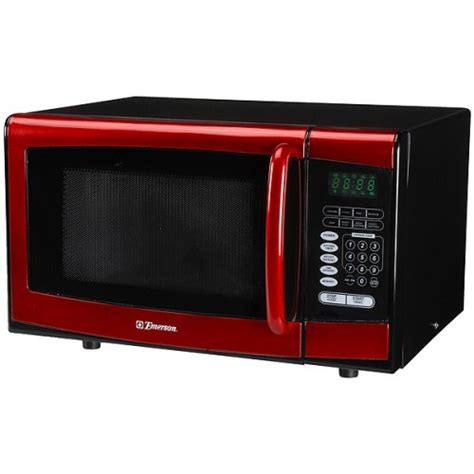 Soup Kitchen Meal Ideas by Emerson 900 Watt Microwave Oven Red Cheap Best Toaster