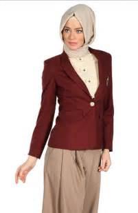 Model baju jas wanita modern terbaru 2015 untuk kerja kantor casual