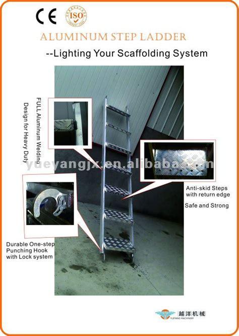 Tangga Scaffolding 1 aluminium perancah tangga dengan ringan buy aluminium