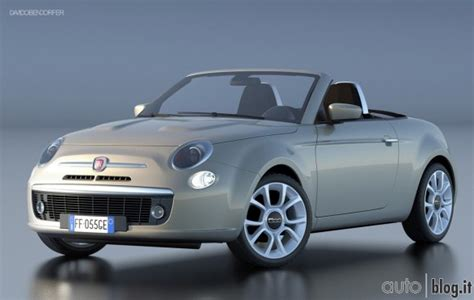 fiat 500 coupe render fiat 500 coup 232 spider