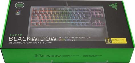 Razer Blackwidow Tournament V2 Chroma Orange Switch razer blackwidow tournament edition chroma v2 mechanical