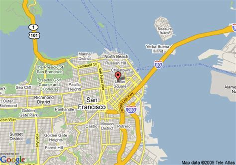 kimpton hotels san francisco map sir francis hotel a kimpton hotel san francisco
