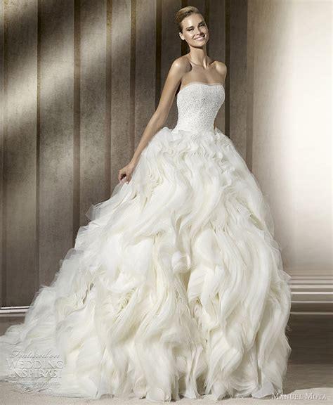 2012 Wedding Dresses by Manuel Mota Wedding Dresses 2012 Wedding Inspirasi
