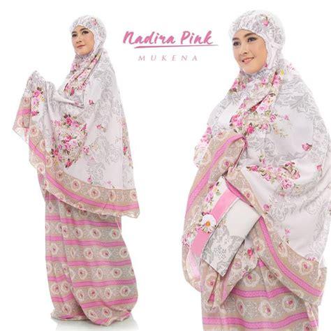 Mukena Bali Semi Jumbo Motif Bunga mukena bali terbaru 2019 nadira pink baju gamis terbaru