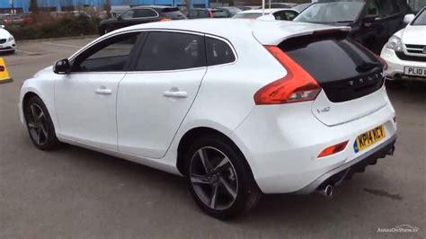white volvo v40 volvo v40 d3 r design nav white 2014