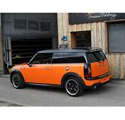 Car Wrapping  Mini Cooper Clubman S Toxic Orange Metallic