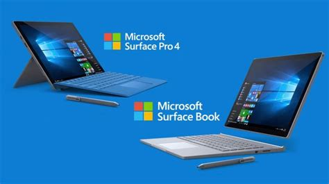 Microsoft Surface Book Pro 4 microsoft introduced surface pro 4 and surface book