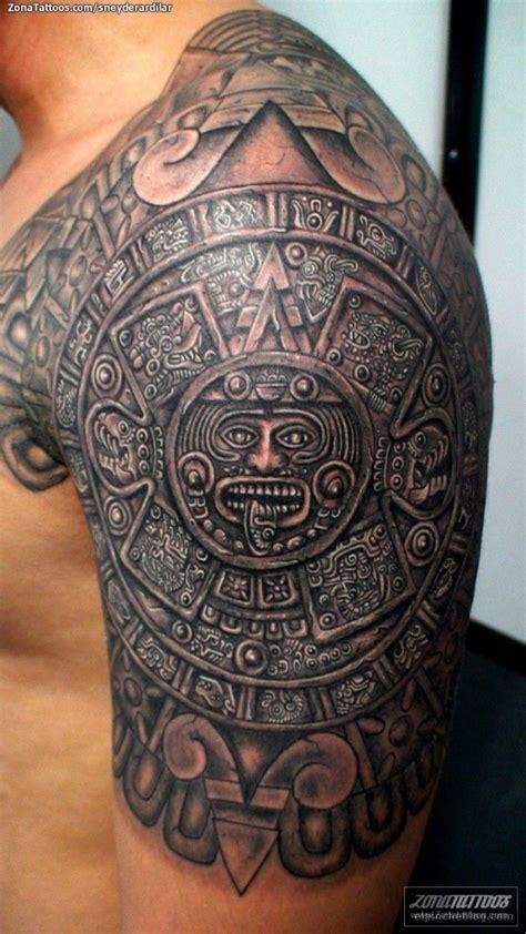 Calendario Azteca Tatuaje 26 Tatuajes Bien Mexicanotes S 243 Lo Para Los Que M 193 S