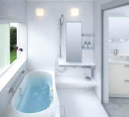 idea for small bathrooms small bathroom layouts by toto digsdigs