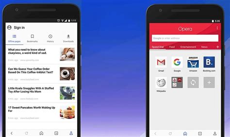 opera for android opera for android gets major ui makeover