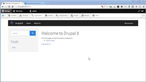 drupal themes not working drupal 8 bootstrap theme part 2 create sub theme
