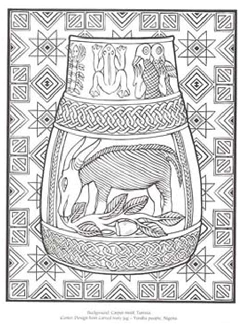 african designs coloring pages african patterns to colour