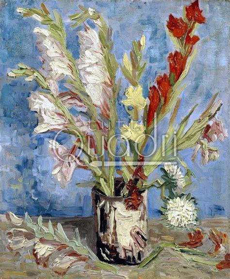 vaso di gogh quot vaso di gladioli e astri cinesi quot gogh quadro fiori