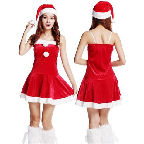 cheap 2016 adult women christmas costumes sexy ladies xmas