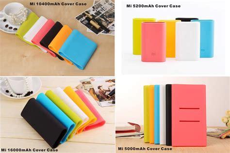 Silicon Cover For Xiaomi Powerbank 5000 Mah White Xiaomi Mi Silicone Powerbank Cover 5200mah 10400mah
