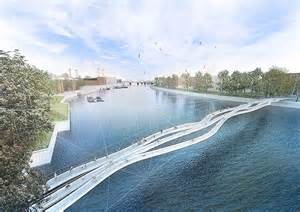 design contest launched for another thames bridge design for new foot and cycle bridge across the london
