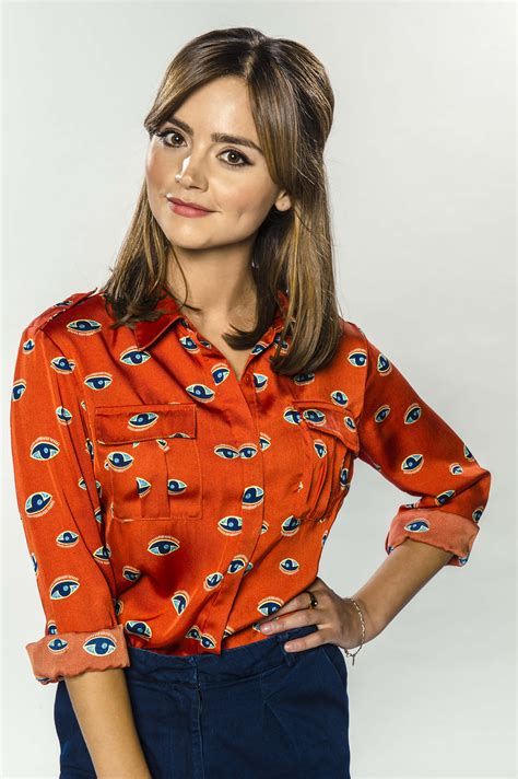 jenna coleman doctor who clara oswald doctor who series 8 ep 2 picture shows jenna coleman