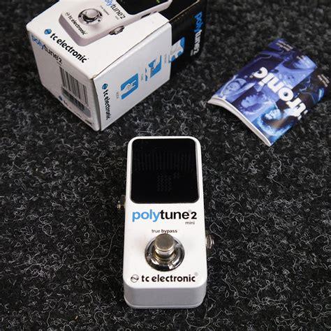 2 Mini Second polytune 2 mini tuner pedal w box 2nd rich tone