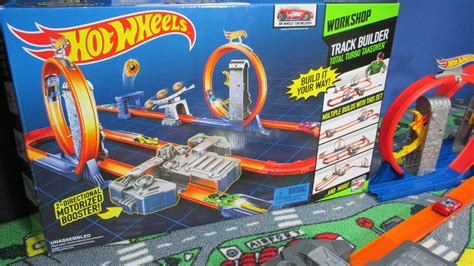 track builder total turbo takeover hot wheels track system