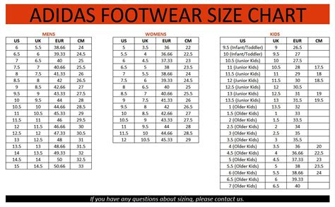 nike football shoes size chart adidas cf i youths sneakers runners us sizes