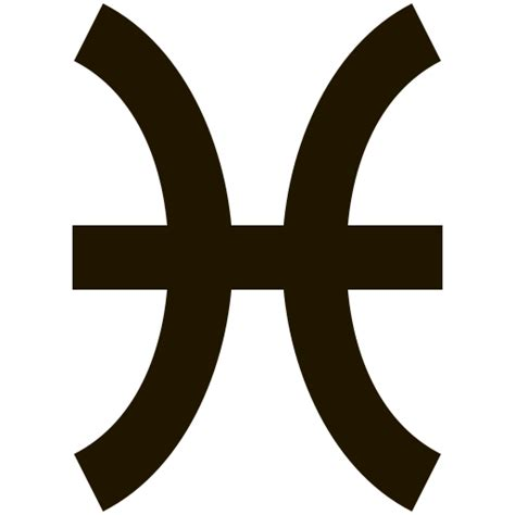 pisces zodiac signs astrology astro horoscope icon