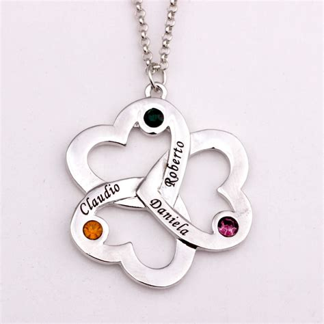 custom make jewelry personalized pendant necklace 2016 birthstone