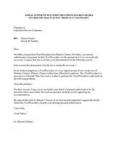 Insurance Appeal Letter From Provider Best Photos Of Appeal Letters