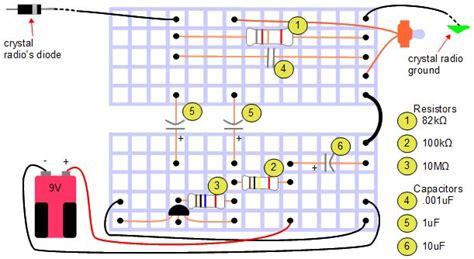 breadboard circuit schematic breadboard diagram
