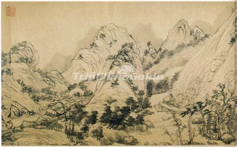 dwelling   fuchun mountains  famous painting  yuan